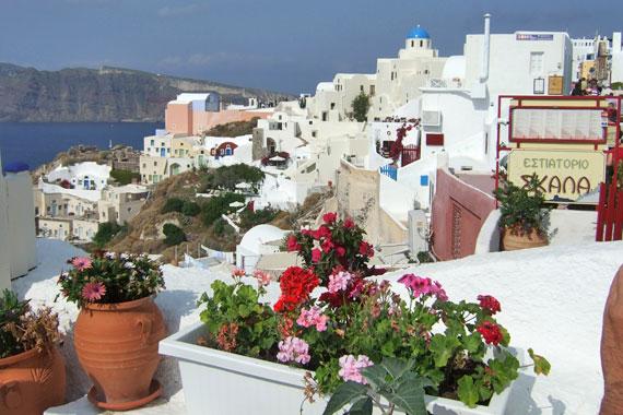 Griechenland, Griechische Insel Santorini (Kykladen Inseln) ( Urlaub, Reisen, Lastminute-Reisen, Pauschalreisen )