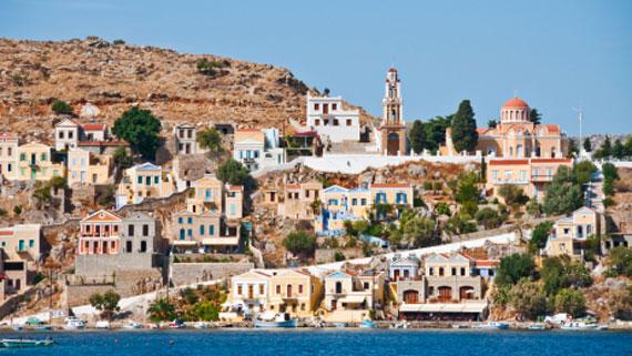 Griechische Insel Symi (Dodekanes Inseln) ( Urlaub, Reisen, Lastminute-Reisen, Pauschalreisen )