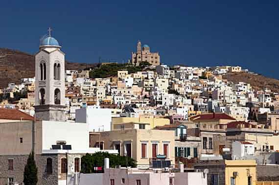 Griechische Insel Syros (Kykladen Inseln) ( Urlaub, Reisen, Lastminute-Reisen, Pauschalreisen )