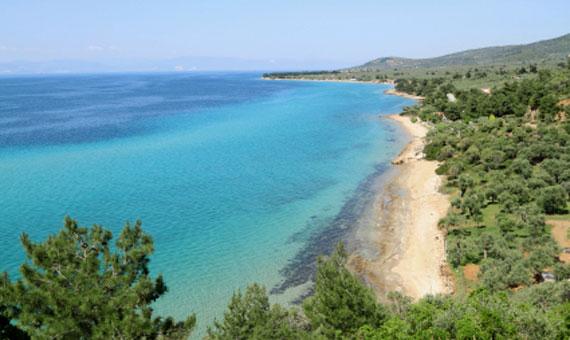 Griechische Insel Thassos (Nordostägäische-Inseln) - Klysma Bucht ( Urlaub, Reisen, Lastminute-Reisen, Pauschalreisen )