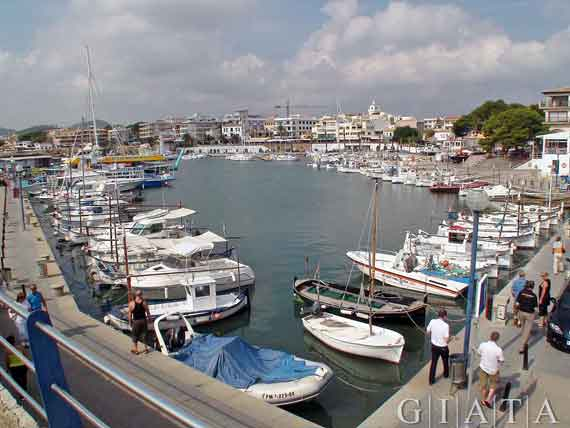 Mallorca, Cala Ratjada - Hafen ( Urlaub, Reisen, Lastminute-Reisen, Pauschalreisen )