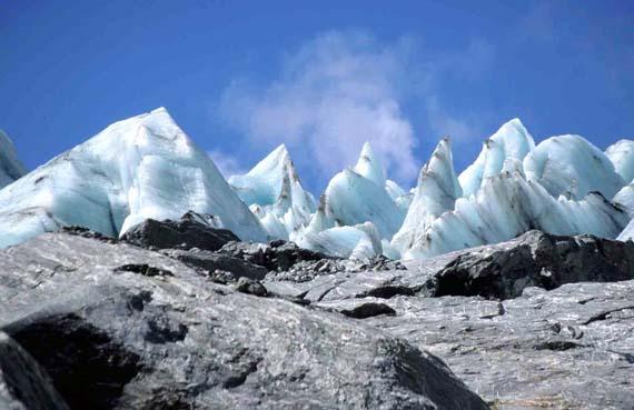 Neuseeland, Gletscher auf der Südinsel ( Urlaub, Reisen, Lastminute-Reisen, Pauschalreisen )