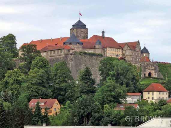 Festung Rosenberg in Kronach, Oberfranken, Bayern (Urlaub, Reisen, Last-Minute-Reisen, Pauschalreisen)