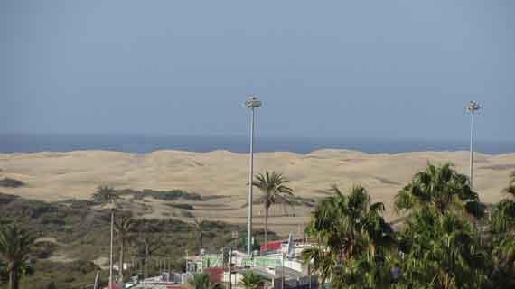 Dünen von Maspalomas, Gran Canaria, Kanaren, Spanien ( Urlaub, Reisen, Lastminute-Reisen, Pauschalreisen )