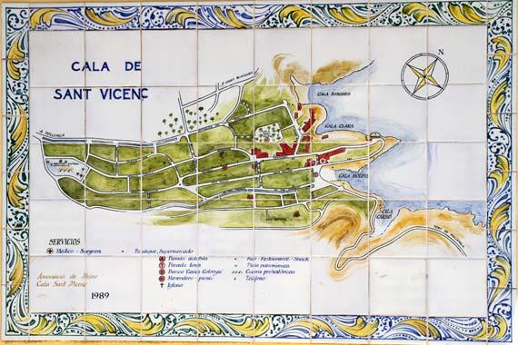 Cala de Sant Vicenc (Cala San Vincente), Mallorca, Balearen, Spanien ( Urlaub, Reisen, Lastminute-Reisen, Pauschalreisen )