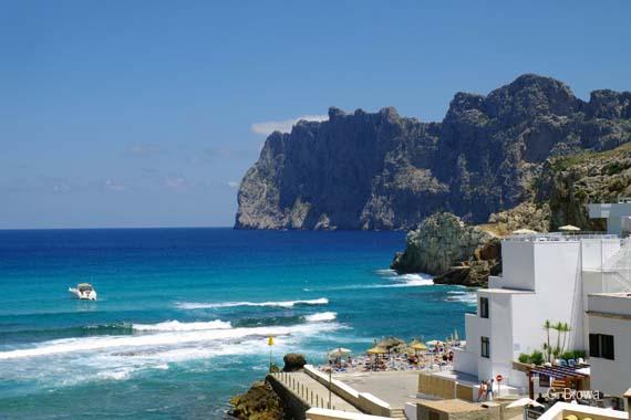 Spanien, Balearen, Mallorca - Cala San Vicente (Cala de Sant Vicenc) - Cala Barques ( Urlaub, Reisen, Lastminute-Reisen, Pauschalreisen )