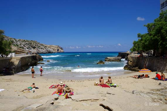 Cala de Sant Vicenc (Cala San Vincente) - Cala Clara, Mallorca, Balearen, Spanien ( Urlaub, Reisen, Lastminute-Reisen, Pauschalreisen )