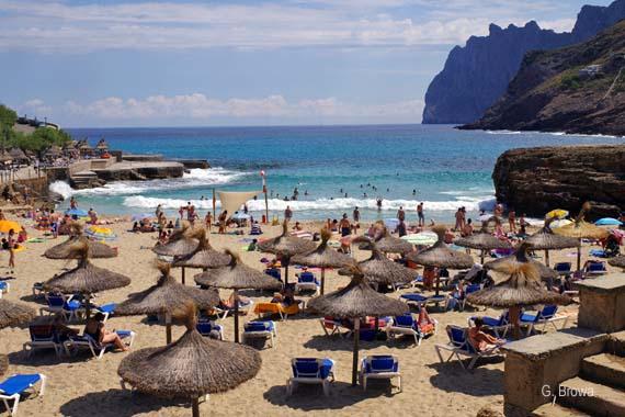 Cala de Sant Vicenc (Cala San Vincente) - Cala Molins, Mallorca, Balearen, Spanien ( Urlaub, Reisen, Lastminute-Reisen, Pauschalreisen )