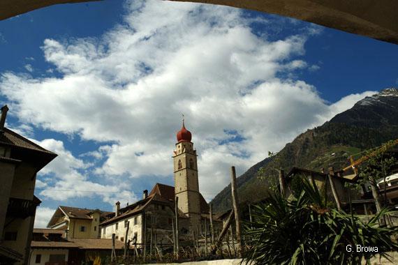Partschins bei Meran, Suedtirol, Italien