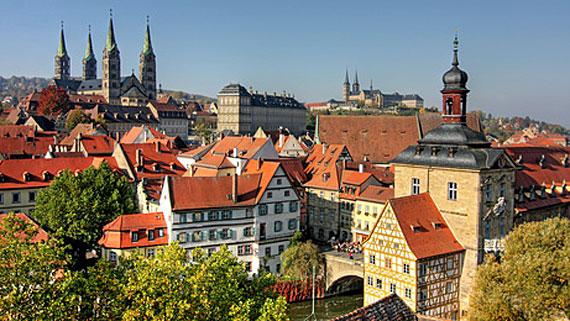 Bamberg ( UNESCO-Welterbe ) - Franken, Bayern, Deutschland