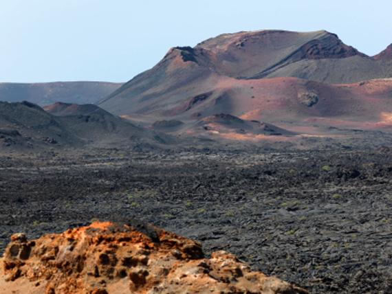 Lanzarote (Kanaren) - Vulkanlandschaft
