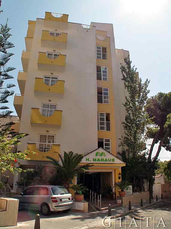 Hotel manaus s 39 arenal playa de palma mallorca for Design hotel mallorca last minute