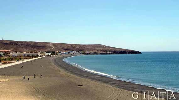 Strand von Tarajalejo, Fuerteventura, Kanaren ( Urlaub, Reisen, Lastminute-Reisen, Pauschalreisen )