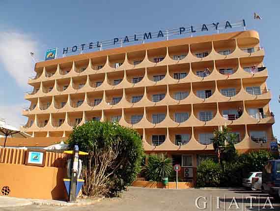 Hotel palma playa cactus playa de palma mallorca for Design hotel mallorca last minute