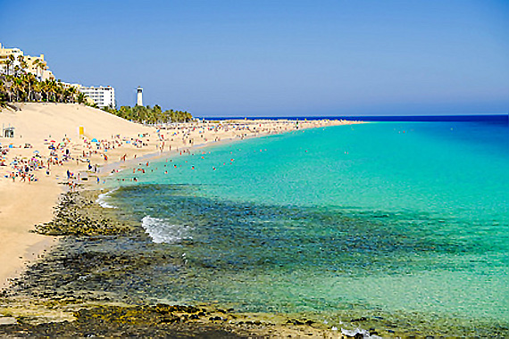Fuerteventura ( Kanaren ) - Playa del Matorral ( Reisen, Urlaub, Lastminute )