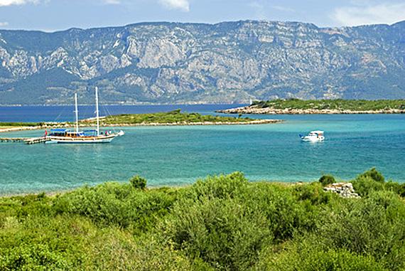 Türkei, Türkische Ägäis, Bodrum, Insel-Sedir (Kleopatra Insel) ( Urlaub, Reisen, Lastminute-Reisen, Pauschalreisen )